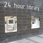 Library24h installed in New Castle (Uk)
